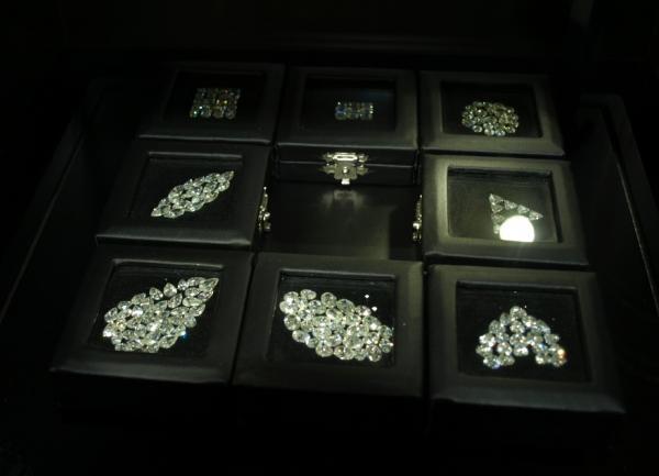 ダイヤモンドカットする形