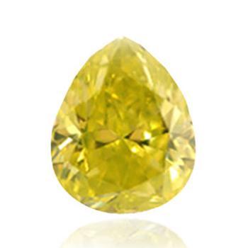 желтый бриллиант ярко зеленовато-желтого цвета