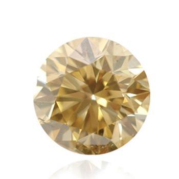 Желтый бриллиант коричневато-желтого цвета