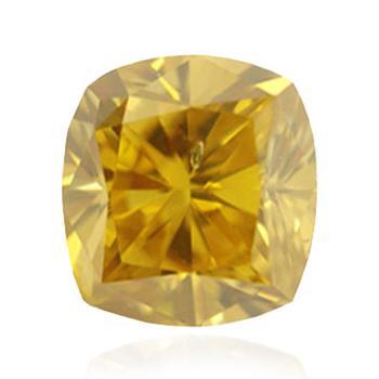 желтый бриллиант глубокого коричневато-желтого цвета