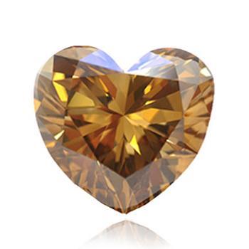 深い茶色・黄色ダイヤモンド
