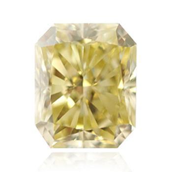 Желтый бриллиант коричневато-зеленовато-желтого цвета