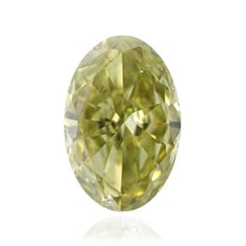 深い茶色・緑・黄色ダイヤモンド