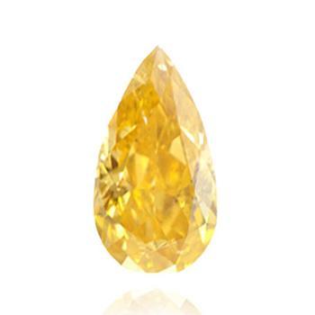 高度オレンジ・黄色ダイヤモンド