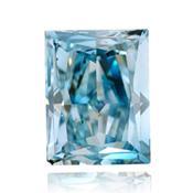 輝緑色で青ダイヤモンド